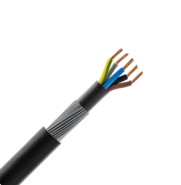 2.5mm 5 Core SWA Armoured Cable