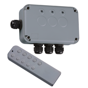 Waterproof 3 Gang Remote Controlled Switch Box 13A IP66