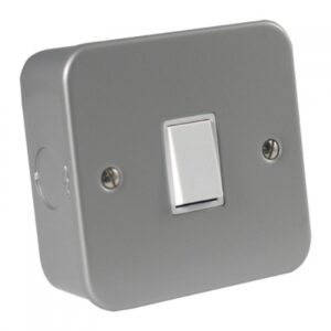 Metal Clad 1 Gang 2 Way Switch